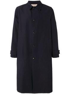 пальто в полоску Maison Flaneur