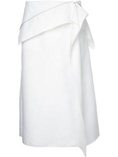юбка с асимметричной молнией Dion Lee
