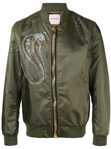 классическая куртка бомбер Palm Angels