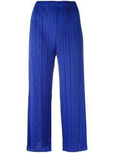 расклешенные плиссированные брюки Pleats Please By Issey Miyake