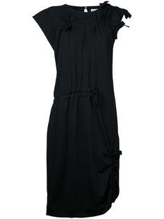 платье с присборенной отделкой Facetasm