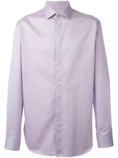 рубашка с потайной застежкой Giorgio Armani