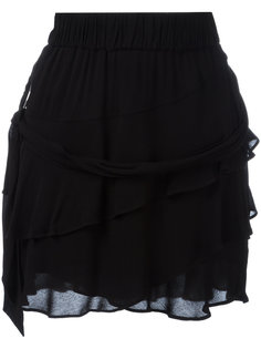 многоярусная юбка с оборками Iro