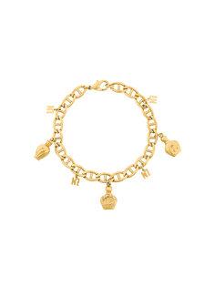 perfume bottle charm chain bracelet Nina Ricci Vintage
