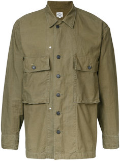 military shirt jacket  Gold