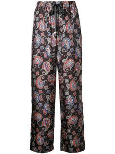 paisley print trousers Astraet