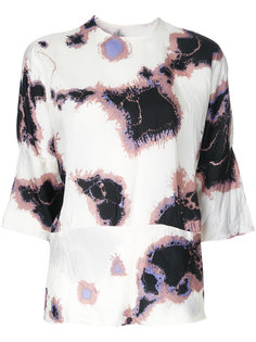 printed three-quarter sleeve blouse  Theatre Products