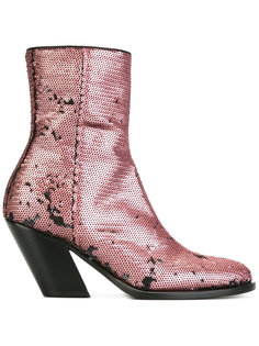 ботинки с блестками A.F.Vandevorst