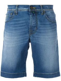 широкие джинсовые шорты Jacob Cohen