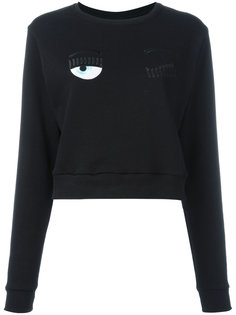 Winking Eye sweatshirt Chiara Ferragni