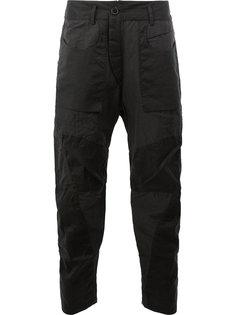 брюки в военном стиле Ziggy Chen
