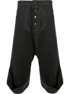 укороченные брюки свободного кроя Christopher Nemeth