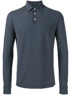 рубашка-поло с узором Zanone