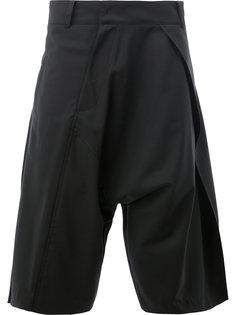костюмные шорты с заниженным шаговым швом Moohong