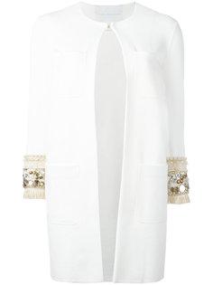 пальто с блестящей отделкой Giada Benincasa