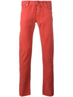 брюки-чинос со стандартной посадкой Jacob Cohen