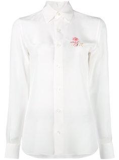 embroidered flower shirt  Loewe