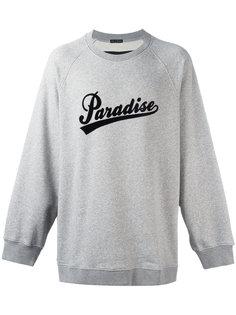 Paradise print sweatshirt Marc Jacobs
