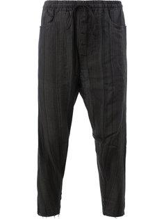 спортивные брюки с отделкой в рубчик Song For The Mute