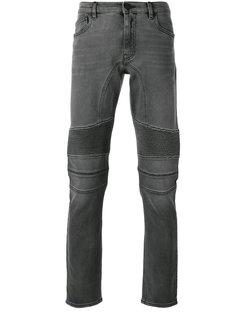 джинсы с фактурными вставками Belstaff