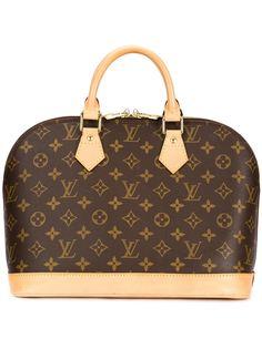 сумка-тоут с брендовым узором Louis Vuitton Vintage