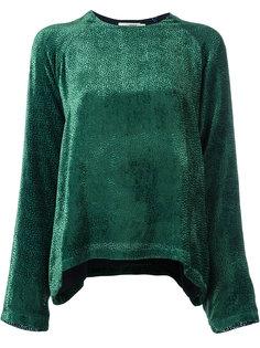 devoré blouse  Roseanna