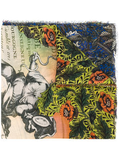 шарф с рисунком Faliero Sarti