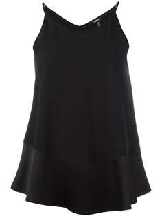 flared tank top  Jil Sander Navy