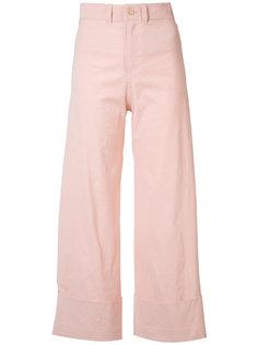 wide leg trousers Sea