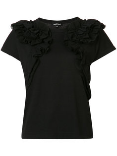 ruffle detail T-shirt  Comme Des Garçons Tricot