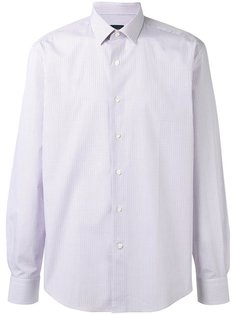 рубашка в мелкую клетку Lanvin