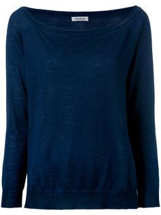 вязаный свитер с разрезами на подоле P.A.R.O.S.H.