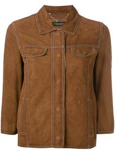 замшевая куртка на пуговицах Twin-Set