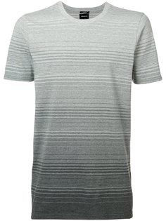 футболка с градиентным эффектом Denham