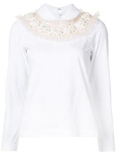 bead embellished blouse  Comme Des Garçons Tricot