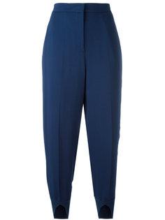 укороченные брюки с разрезами снизу Twin-Set