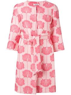пальто с жаккардовым цветочным узором P.A.R.O.S.H.