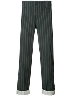 woven stripe trousers  Undercover