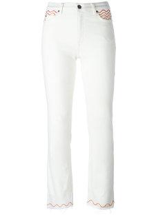 кастомизированные джинсы Mih Jeans