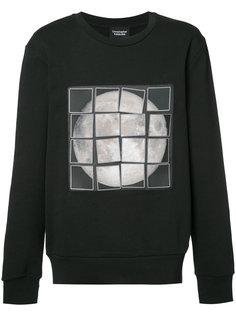 velcro moon sweatshirt  Christopher Raeburn