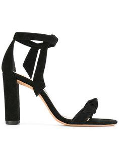 chunky heel knot sandals  Alexandre Birman