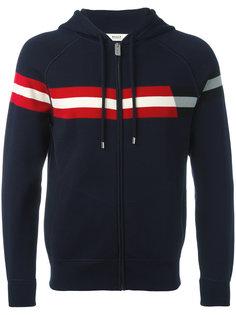stripe panel hoodie Bally