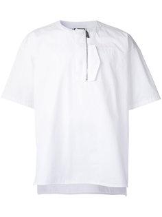 футболка с молнией Wooyoungmi