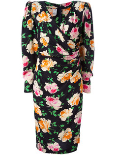 flower print dress Emanuel Ungaro Vintage