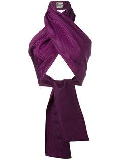 wrap scarf top Krizia Vintage