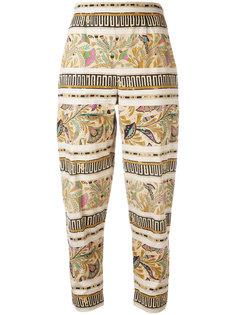 printed trousers Fendi Vintage