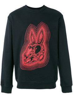 Bunny Be Here Now sweatshirt McQ Alexander McQueen
