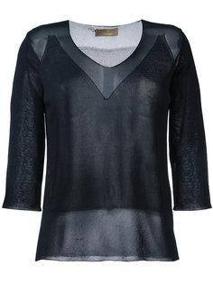 полупрозрачная блузка Cruciani