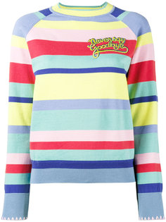 striped jumper Mira Mikati