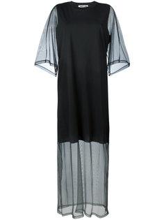 sheer sleeve T-shirt dress McQ Alexander McQueen